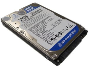 Western Digital Scorpio Blue 320 GB (WD3200BPVT)