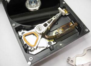 Парковка головки жёсткого диска