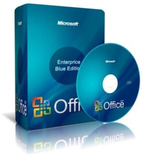 Фейковая обложка Microsoft Office 2007 Blue Edition