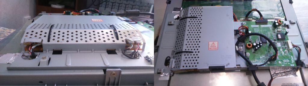 Корпус монитора после ремонта