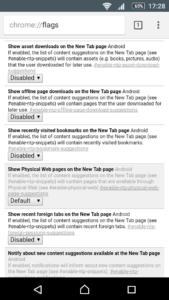 Отключение вывода загрузок и закладок на новой вкладке Google Chrome