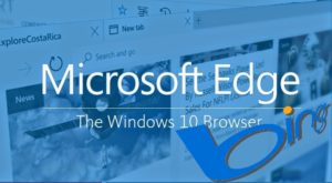 Браузер по умолчанию в Windows 10 S - Microsoft Edge с поисковой системой Bing