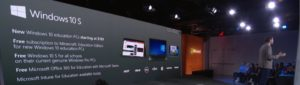 Презентация Windows 10 S на Microsoft EDU