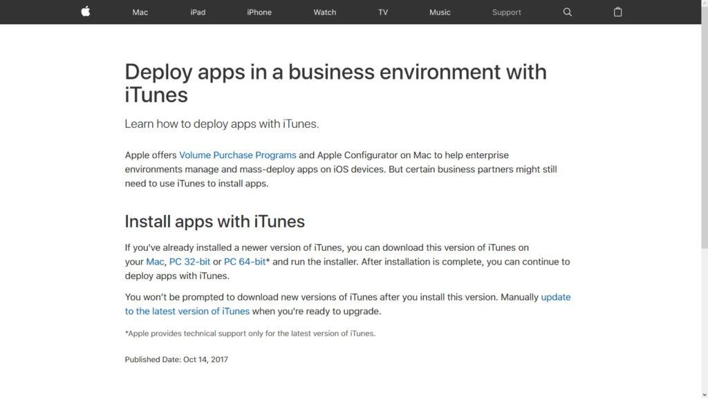 iTunes 12.6.3 с возможностью устанавливать программы от Apple