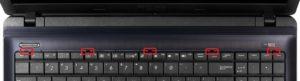 Снятие клавиатуры на ноутбуке для доступа к шлейфу тачпада