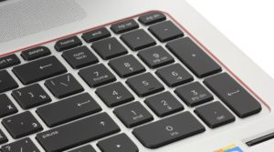 Numpad на клавиатуре ноутбука
