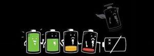 Необратимый износ батарейки в результате полного разряда